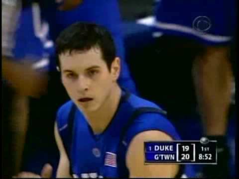 Duke Blue Devil shooting star JJ Redick in action.