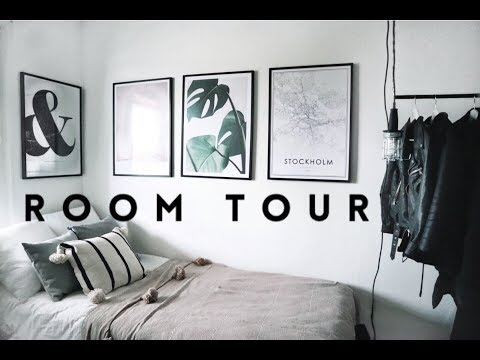 MY ROOM TOUR | minimal, simple, monochrome | Desenio Collab - YouTube