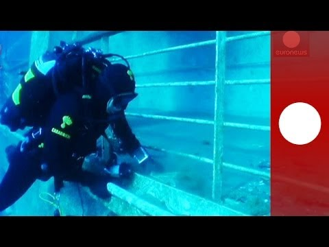 Costa Concordia: insider's look at the underwater wreckage