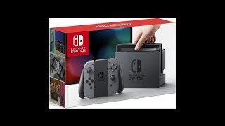 Unboxing Nintendo Switch Gray