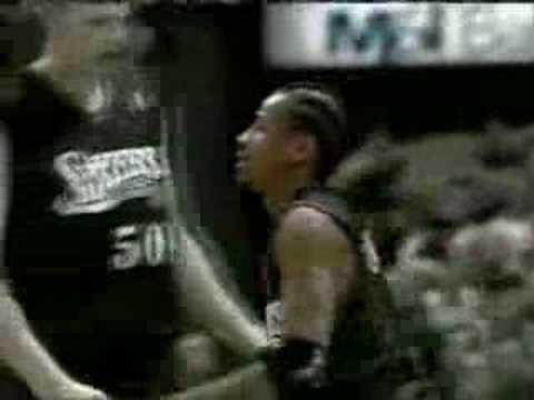 Allen Iverson 46 pts 2001 Playoff Game vs Bucks Game 6