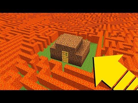 NOOB EVİ VS İMKANSIZ LAV LABİRENT! - Minecraft