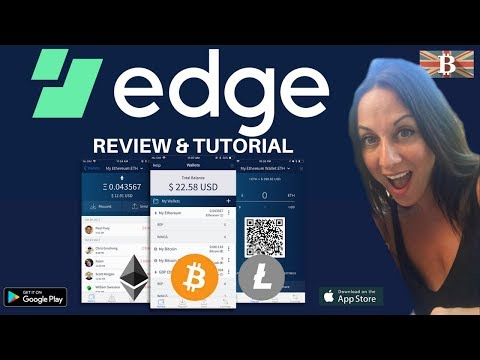 Edge Secure Mobile Cryptocurrency Wallet Review & Tutorial
