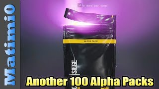 Opening Another 100 Alpha Packs - Rainbow Six Siege