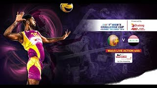 Sri Lanka v Iraq – Semi Final (1st-4th Place) - 1st Asian Men's Volleyball Challenge Cup