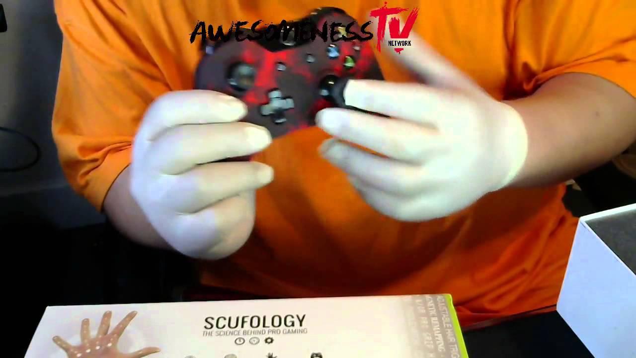 Scuf One Digital Camo Red