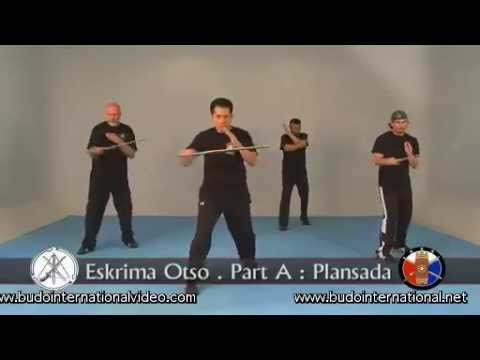 Lameco Eskrima Long Range Single Sword. Dino Flores