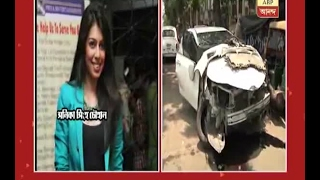 Actor Vikram Chattopadhyay met with a car accident, Model Sonika Singh Chauhan spot dead
