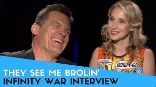 Josh Brolin on Being Thanos & Working w/ Friends in Infinity War