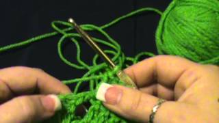 "How to Crochet this ""Block and Offset Shell Stitch"""