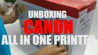 CANON | ALL in ONE budget friendly printer | Unboxing & Overview |