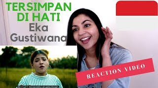 TERSIMPAN DI HATI - Eka Gustiwana (ft. Prince Husein & Sara Fajira) - REACTION