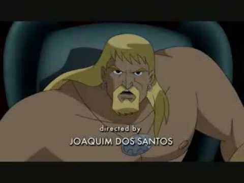 Aquaman on Justice League Unlimited - YouTube