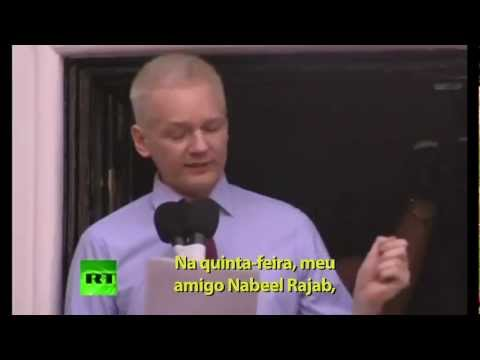 Discurso de Julian Assange legendado em Português
