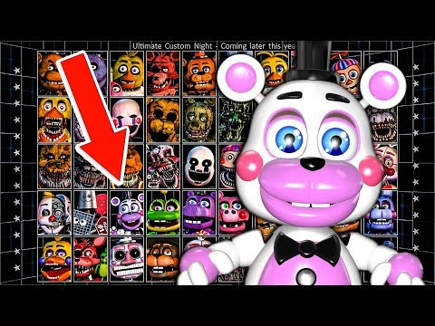 FNAF 6 Ultimate Custom Night Final Update From Scott Cawthon?! Will This be FNAF 7?