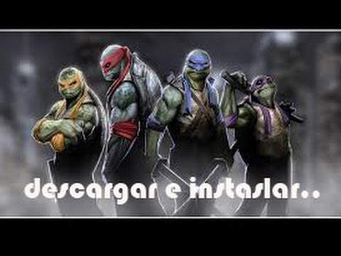 como descargar e instalar teenage mutant ninja turtles out of the shadows PC full español