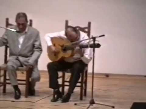 CURRO LUCENA ( Soleares ) Guit: Paco del Gastor 1993