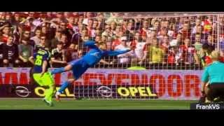 Jasper Cillessen ● AFC Ajax ● Best Saves, Skills Goalkeeper ● Goodluck 2015 2016 ● HD