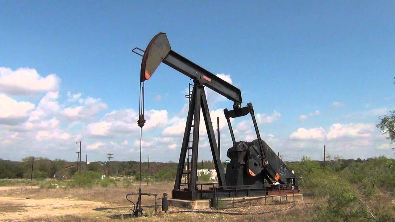 Darst Oil Field Lufkin Pumpjack Youtube