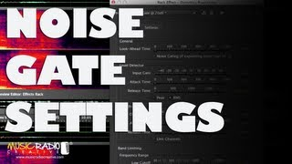 Setting A Noise Gate With Laser Accuracy - Adobe Audition CC