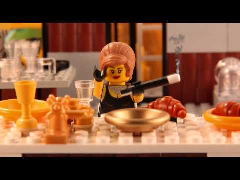 Populāru filmu kadri ar Lego