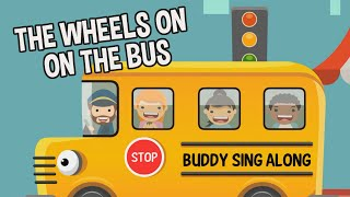 The Wheels On The Bus Go Round And Round Song | Nursery Rhymes