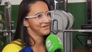 Atletas do halterofilismo se preparam para Parapan 2019