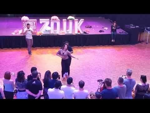 SSZF2018: Vanessa & Val in Sunday afternoon workshop demo ~ Zouk Soul