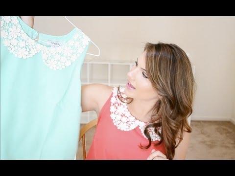 TJ Maxx Haul ! Sleeveless Collar Shirts & Dresses