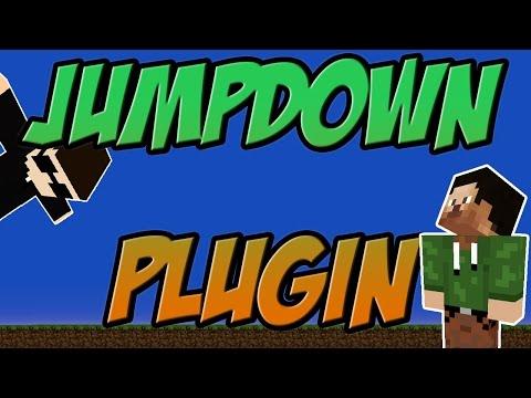 Jump Down Bukkit Plugin Minecraft | 1.8.x Spigot | German| | Tutorial |