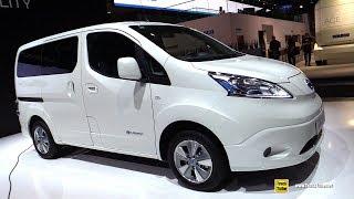 2019 Nissan e-NV200 Electric Vehicle - Exterior and Interior Walkaround - 2018 IAA Hannover