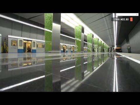 Станцию метро Ломоносовский проспект откроют в декабре