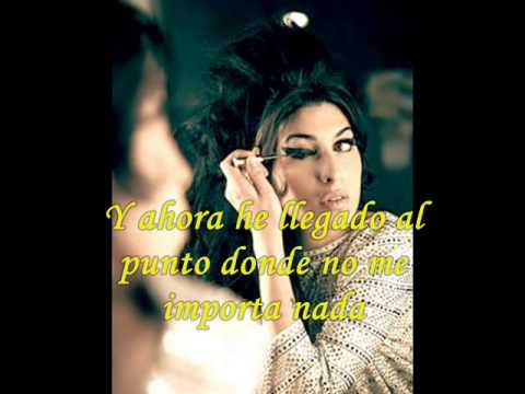 "Amy Winehouse ""Beat the point to death"" subtítulos en español"