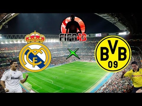 Fifa 13 - Real x Borussia - Melhores Momentos - 30-04-13 - SemiFinal