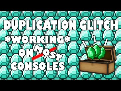 *Desc* Minecraft DUPLICATION Glitch Tutorial! - *WORKING* MOST CONSOLES! Xbox One, PS4, Wii +More