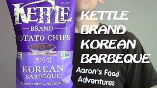 Kettle Brand Korean Barbeque Chips | Spicochist Reviews