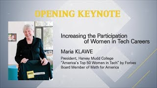 [2019 ELIS] Opening Keynote Speech : Increasing the Participation of Women in Tech Careers