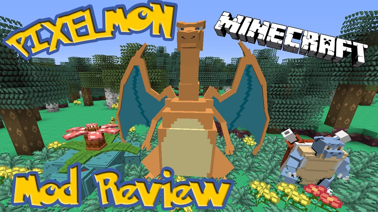 Мод на Покемоны для Minecraft 1.10.2/1.8.9/1.7.10