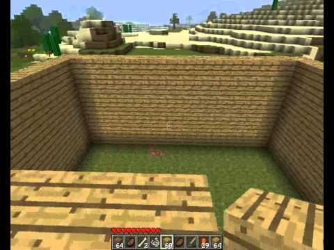 обзор по игре minecraft часть 4 - постройка дома.wmv