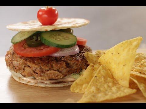 Quesadilla Chicken Burger | Sanjeev Kapoor Khazana