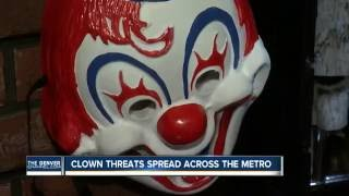 Where clowns have been reported in Colo.