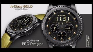 TOP 3 FREE Samsung Gear S3/Gear Sport Watchfaces for this month! Must See! - Jibber Jab Reviews!