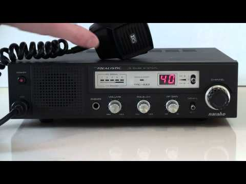 REALISTIC NAVAHO AM BASE STATION CB RADIO