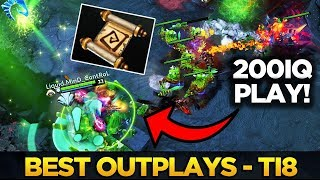 Best Outplays of #TI8 - Dota 2