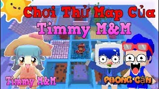 Mini World: Chơi map của Timmy cùng Noxuss | Phong Cận Tv