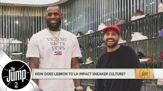 What LeBron James to Lakers means for the shoe industry (and more NBA shoe talk) | The Jump | ESPN