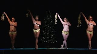Cin City Burlesque - Harlem Nocturne (2016 Dec. Performance)