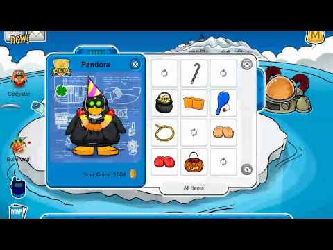 iCP Club Penguin |  Pandora's Items (ALL)