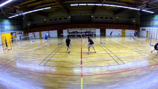 Best of 9 CEBN  badminton Nogent sur Seine