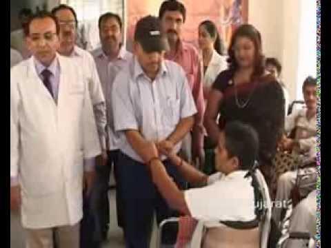 Raksha Bandhan celebrated at Civil hospital in Ahmedabad